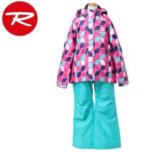 ロシニョール ROSSIGNOL スキーウェア 上下セット JUNIOR GIRL SUIT ジュニア ガール スーツ RLFJJST04|himaraya
