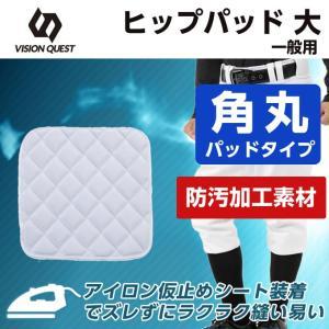 ビジョンクエスト VISION QUEST 野球 ヒップパット メンズ キルト補強スライディングパッド ヒップ用 VQ550405H01|himaraya