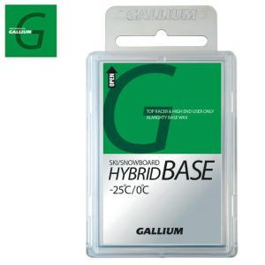 ガリウム GALLIUM スキー・スノーボード 固形ワックス HYBRID BASE100 100g...