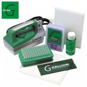 ガリウム ワックスセット アイロンセット ワクシングKit JB0008 チューンナップ用品 GALLIUM スキー スノーボード ワックス|himaraya