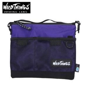 ワイルドシングス WILDTHINGS ポーチ メンズ レディース サコッシュショルダー WT-380-0072 PU|himaraya