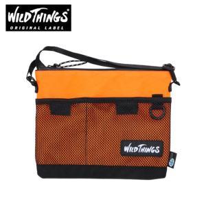 ワイルドシングス WILDTHINGS ポーチ メンズ レディース サコッシュショルダー WT-380-0072 OR|himaraya
