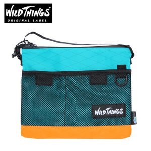 ワイルドシングス WILDTHINGS ポーチ メンズ レディース サコッシュショルダー WT-380-0072 MUL1|himaraya