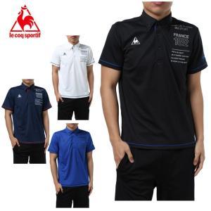 ルコック le coq sportif ポロシャツ 半袖 メンズ ボタンダウン機能 QMMLJA41HM