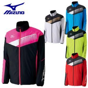 ミズノ テニスウェア バドミントンウェア ウインドブレーカー ジャケット メンズ レディース ブレスサーモ ライトウォーマーシャツ 62JE7505 MIZUNO himaraya