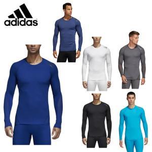 アディダス アンダーシャツ 長袖 メンズ ALPHASKIN TEAM ロングスリーブTシャツ EBR74 adidas