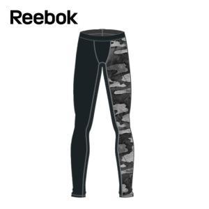 リーボック Reebok ロングタイツ メンズ ワンシリーズ ACTIVCHILL Comp カモグラフィック タイツ CD5203 EBM61