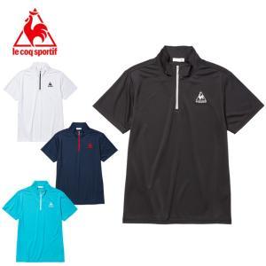 ルコック le coq sportif ポロシャツ 半袖 メンズ ワンポイントHZ機能Tシャツ QMMLJA70ZZ