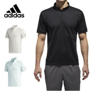 アディダス adidas ポロシャツ 半袖 メンズ M4T スタンドカラーポロシャツ EUC87