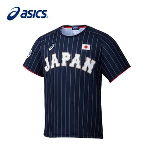 アシックス asics 野球 メンズ Tシャツ ビジター BAT713|himaraya