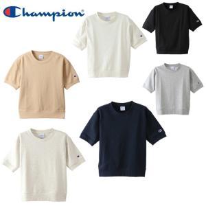 チャンピオン Champion トレーナー レディース ショートスリーブスウェットシャツ CW-M015|himaraya