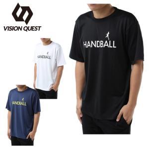 ビジョンクエスト VISION QUEST ハンドボールウェア 半袖シャツ メンズ レディース 半袖ハンド文字プラシャツ VQ570105H01
