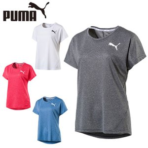 プーマ Tシャツ 半袖 レディース ワンポイント機能Tシャツ 851927 PUMA