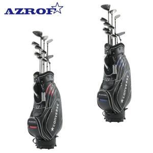 アズロフ AZROF ゴルフ セットクラブ メンズ CONVERSE×AZROF Mセット AZC-7045 M-SET 2x6+UT+PT+CB|himaraya