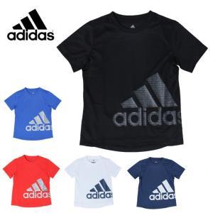 アディダス Tシャツ 半袖 ジュニア B TRN CLIMACOOL バッジオブスポーツ ETP17 adidas