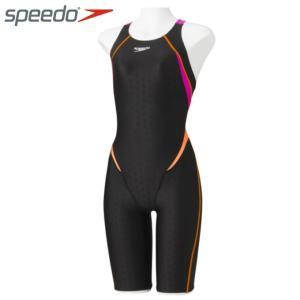 スピード FINA承認 競泳水着 ハーフスパッツ レディース FLEX Σ シグマ セミオープンバックニースキン フレックス SD48H09 speedo|himaraya