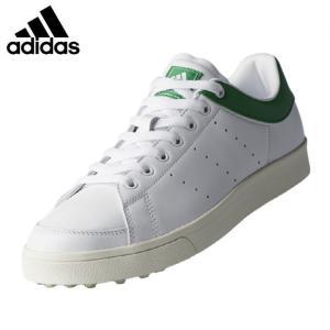 アディダス adidas ゴルフシューズ スパイクレス メンズ アディクロス クラシック ワイド F33781 WI511|himaraya