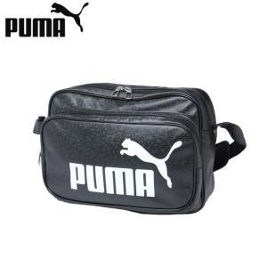 プーマ エナメルバッグ Mサイズ メンズ レディース トレーニング PUショルダー 075370-0...