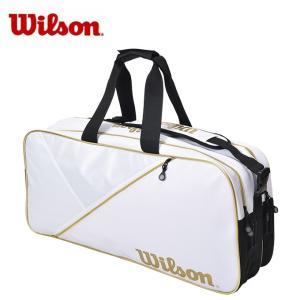 ウィルソン テニス バドミントン ラケットバッグ 6本用 TOUR RECTANGLE WRZ894400 Wilson メンズ レディース|himaraya