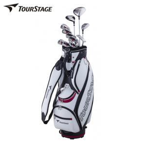 ブリヂストン ツアーステージ TOURSTAGE ゴルフ セットクラブ メンズ TOURSTAGE V002 キャディバッグ付11本セット V2GBKC V2GSKC|himaraya