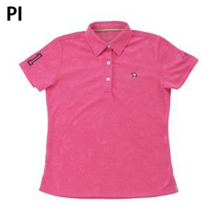 アーノルドパーマー arnold palmer ゴルフウェア ポロシャツ 半袖 レディース 傘エンボス半袖シャツ AP220301H03|himaraya|02