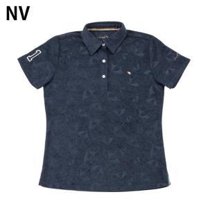 アーノルドパーマー arnold palmer ゴルフウェア ポロシャツ 半袖 レディース 傘エンボス半袖シャツ AP220301H03|himaraya|03