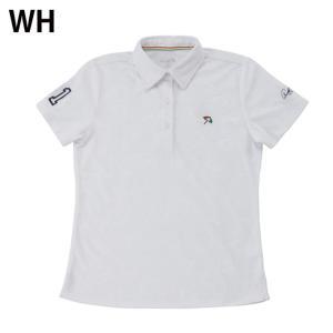 アーノルドパーマー arnold palmer ゴルフウェア ポロシャツ 半袖 レディース 傘エンボス半袖シャツ AP220301H03|himaraya|04
