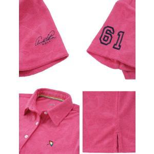 アーノルドパーマー arnold palmer ゴルフウェア ポロシャツ 半袖 レディース 傘エンボス半袖シャツ AP220301H03|himaraya|06