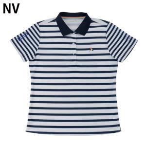 アーノルドパーマー arnold palmer ゴルフウェア ポロシャツ 半袖 レディース ボーダー半袖シャツ AP220301H06|himaraya|03