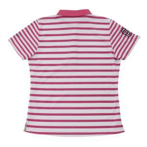 アーノルドパーマー arnold palmer ゴルフウェア ポロシャツ 半袖 レディース ボーダー半袖シャツ AP220301H06|himaraya|04
