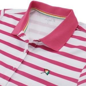 アーノルドパーマー arnold palmer ゴルフウェア ポロシャツ 半袖 レディース ボーダー半袖シャツ AP220301H06|himaraya|05