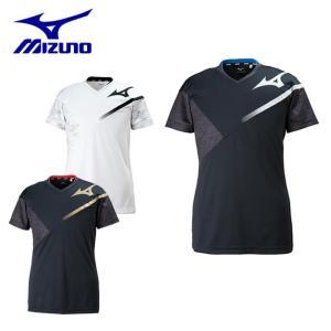 ミズノ バレーボールウェア 半袖シャツ メンズ レディース プラクティスシャツ V2MA8080 MIZUNO|himaraya
