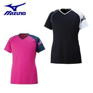 ミズノ バレーボールウェア 半袖シャツ メンズ レディース プラクティスシャツ V2MA8082 MIZUNO|himaraya