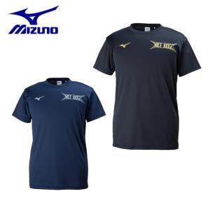 ミズノ バレーボールウェア 半袖シャツ メンズ レディース グラフィックTシャツ V2MA8084 MIZUNO|himaraya