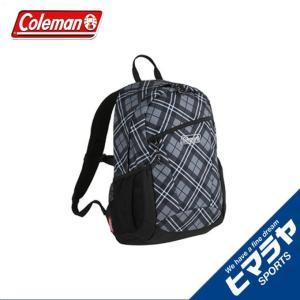 コールマン バックパック 15L レディース ジュニア ウォーカー15 ブラックチェック 2000032869 Coleman レディース ジュニア|himaraya