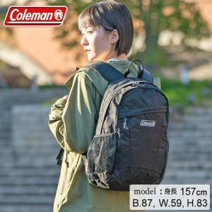 コールマン バックパック 15L レディース ジュニア ウォーカー15 ブラック 2000032866 Coleman レディース ジュニア|himaraya