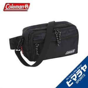 コールマン Coleman ショルダーバッグ メンズ レディース ウォーカーポーチ ブラック 2000032876|himaraya