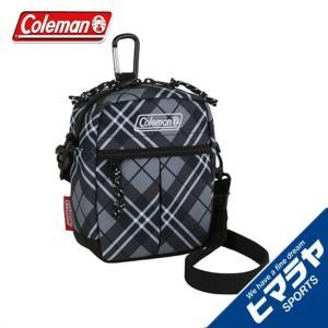 コールマン Coleman ポーチ キューブ ブラックチェック 2000032929|himaraya