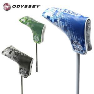 オデッセイ ODYSSEY ヘッドカバー パター用 オデッセイ グラフィック ブレード パター カバー 18 JM Odyssey Graphic Blade Putter Cover 18 JM|himaraya