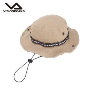 ビジョンピークス VISIONPEAKS ハット メンズ レディース ツイルテープ巻アドベンチャー VP171201H05 L.KHK|himaraya