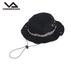 ビジョンピークス VISIONPEAKS ハット メンズ レディース ツイルテープ巻アドベンチャー VP171201H05 BLK|himaraya