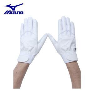 ミズノ MIZUNO 野球 バッティンググローブ 両手用 メンズ グローバルエリート 洗えるGE Leather 高校野球対応 1EJEH01410|himaraya