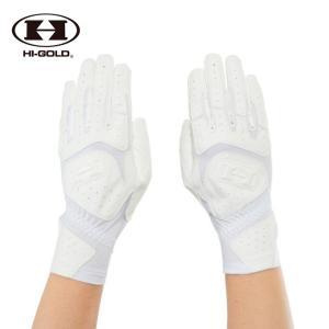 ハイゴールド HI-GOLD 野球 バッティンググローブ 両手用 メンズ バッティング手袋 SH-350W|himaraya
