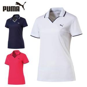 プーマ ゴルフウェア ポロシャツ 半袖 レディース ピケポロ 576495 PUMA