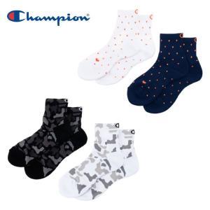 チャンピオン Champion バスケットボール ソックス レディース 2Pショートソックス C3-MB727S|himaraya
