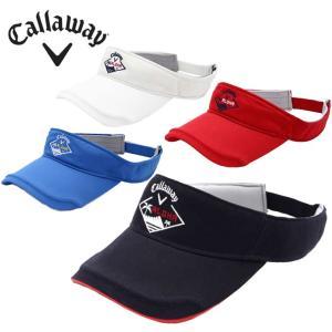 キャロウェイ ゴルフ サンバイザー メンズ ツイルバイザー 241-8184501 Callaway|himaraya