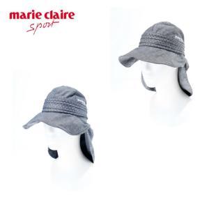 マリ クレール marie claire ゴルフ キャップ レディース 4WAYキャップ 718-902|himaraya