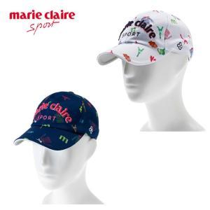 マリ クレール marie claire ゴルフ キャップ レディース メッシュ総柄キャップ 718-900|himaraya