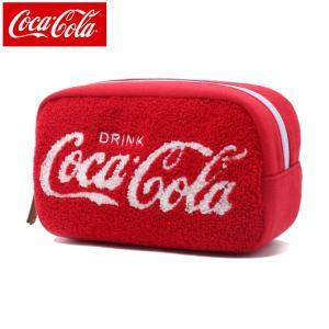コカ コーラ COCA COLA ポーチ メンズ レディース さがらスウェット COK-PCH06 RD|himaraya