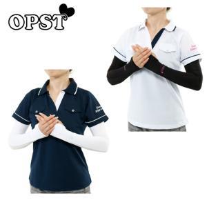 オプスト OPST ゴルフ アームカバー レディース 手甲付きアームカバー OP220804H02|himaraya